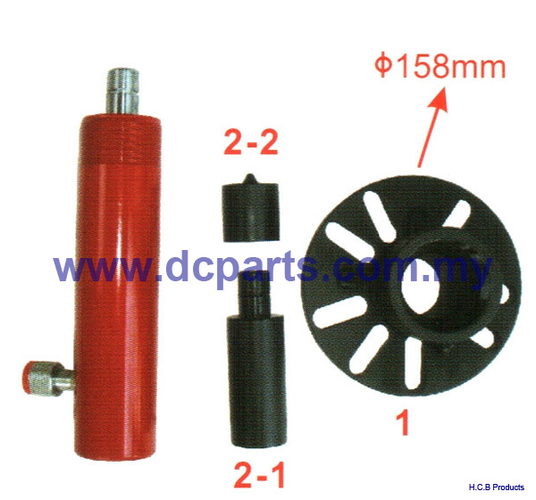 General Truck Repair Tools UNIVERSAL CRANKSHAFT PULLEY EXTRACTOR  A1222